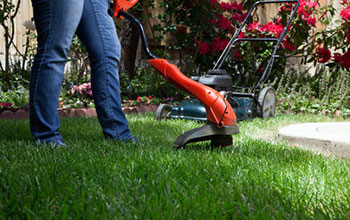 commercial lawn mowing and trimming
